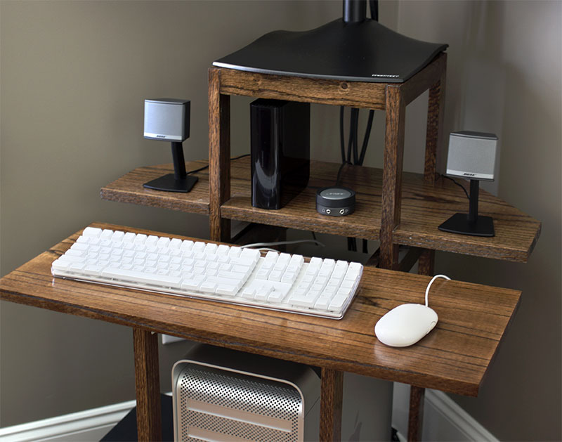 computer desk design within reach